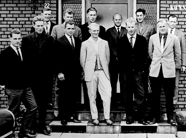 Dänenbesuch in F. Landjugend 1963
