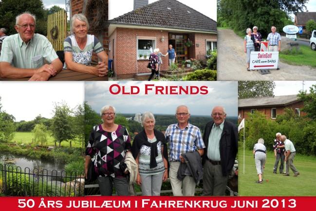 Collage fra 50 års jubilæet i Fahrenkrug.