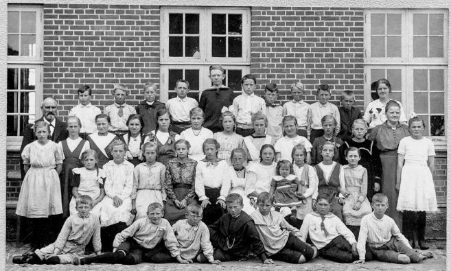Aidt Skole 1919 Magnus