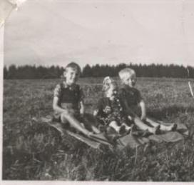 3 søskende i Danstrup