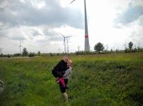 Lise og Carl Erik på vej til Polen